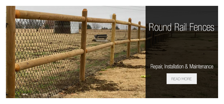 Tulsa Round Rail Fences